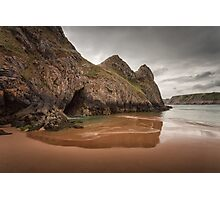 Three Cliffs Gower Photographic Print