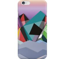 Cosmic Mountains No. 1 iPhone Case/Skin