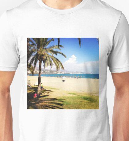 Beach Life in Málaga Unisex T-Shirt