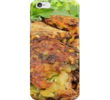 Tasty Zucchini Cutlets iPhone Case/Skin