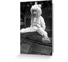 Catherine the Care Bear Greeting Card