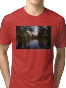 A Glimpse Through the Trees - Bruges, Belgium Tri-blend T-Shirt