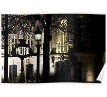 France - Paris 75008 Poster