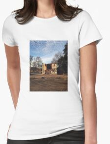 build & destroy, pt. 2 Womens Fitted T-Shirt