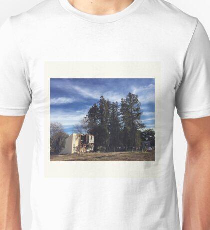 build & destroy Unisex T-Shirt