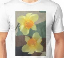 Bi Colour Daffodils Unisex T-Shirt