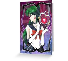 Sailor Pluto Greeting Card