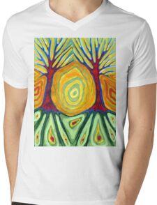Labyrinth Mens V-Neck T-Shirt