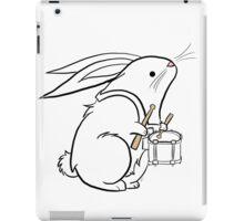 Drummer Bunny iPad Case/Skin