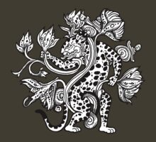 Mayan Jaguar with Lotus by ZugArt
