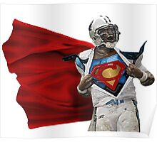 Cam Newton Carolina Panthers Poster