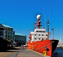 A touch of orange at the V&A Waterfront by davridan