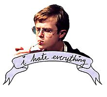 Dane DeHaan - I hate everything Photographic Print