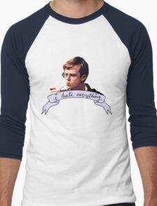 Dane DeHaan - I hate everything Men's Baseball ¾ T-Shirt