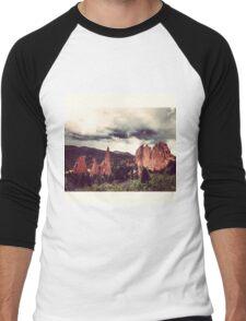 Garden of the Gods, Denver Men's Baseball ¾ T-Shirt