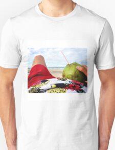 Beach Bumming in Fortaleza, Brasil Unisex T-Shirt