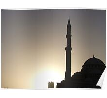 Sharjah Mosque Poster