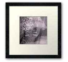 Lady Lace - JUSTART ©  Framed Print