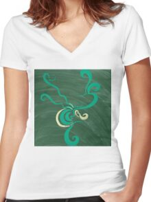 Cultivate Women's Fitted V-Neck T-Shirt