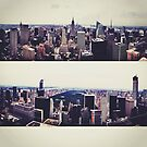 NYC from Top of the Rock by omhafez
