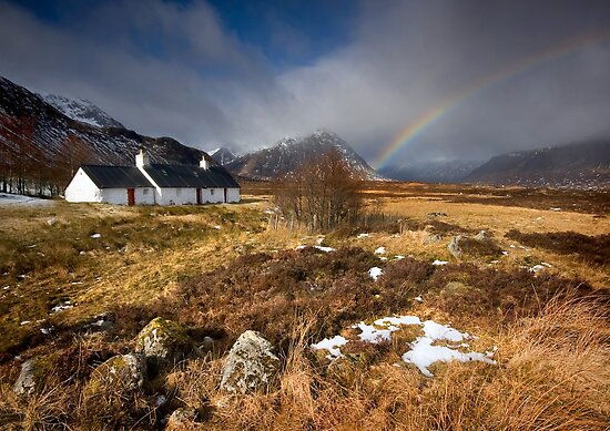 Scotland: Blackrock Rainbow by Angie Latham