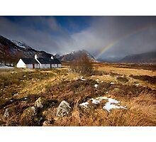 Scotland: Blackrock Rainbow Photographic Print