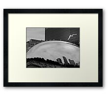 SEAGULL CITY Framed Print