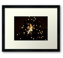 """The Christmas Tree Fairy"" Framed Print"