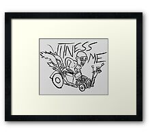 Nux car from Mad Max Fury Road Framed Print