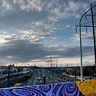 Wall art by Lauren Banks