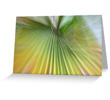 Green queen Greeting Card