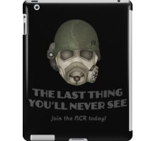 NCR Ranger: The Last Thing You'll Never See iPad Case/Skin