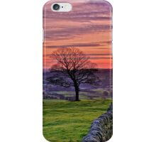 Sunset from The Roaches iPhone Case/Skin