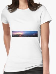 Sunsets in Rio, Pt. 2 Womens Fitted T-Shirt
