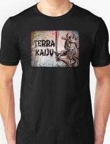 Terra Kaiju, Daikaiju, kaiju, japan, japanese, samurai, terra cotta, godzilla, mothra, king ghidora, comix, indie, ancient, joe badon T-Shirt