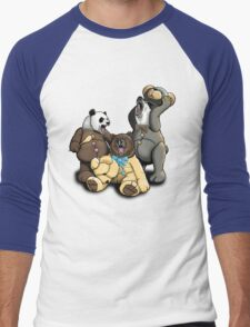 The Three Angry Bears Men's Baseball ¾ T-Shirt