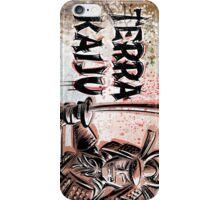 Terra Kaiju, Daikaiju, kaiju, japan, japanese, samurai, terra cotta, godzilla, mothra, king ghidora, comix, indie, ancient, joe badon iPhone Case/Skin
