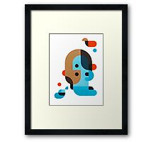Me, myself and I  Framed Print