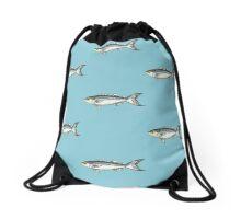 Hatteras Blue Drawstring Bag