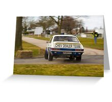 Chevrolet Firenza Greeting Card