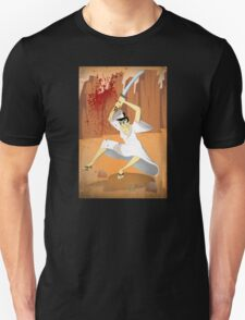 Samurai Jack, Sam, Jack, Art, Wall Art illustration, drawing, home decor, decor, cartoon network, genddy tartakofski, joe badon, cartoon, ninja, samurai Unisex T-Shirt