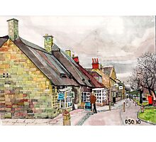Broadway High Street Photographic Print