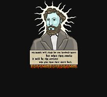 Louis Riel-ity - an Aaron Paquette Unisex T-Shirt