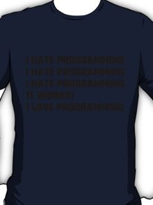 I Love Programming T-Shirt