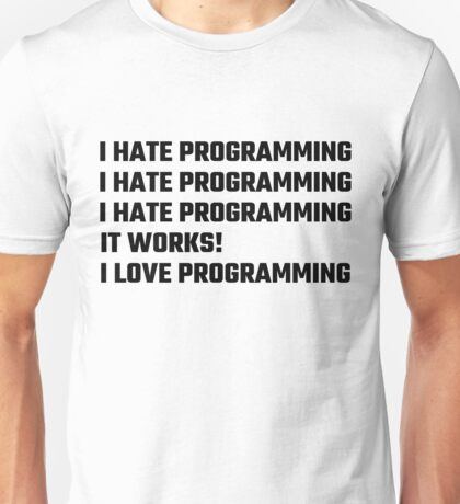 I Love Programming Unisex T-Shirt