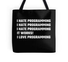 I Love Programming Tote Bag