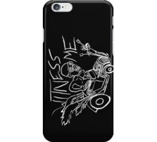 Nux car from Mad Max Fury Road in white iPhone Case/Skin
