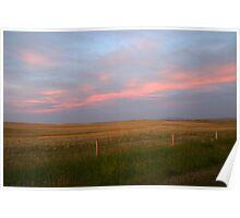 Pink Prairies Poster