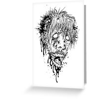 Zombie1 Greeting Card
