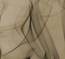 Smoldering Smoke Muted Pastel 002 by Ray Morgis